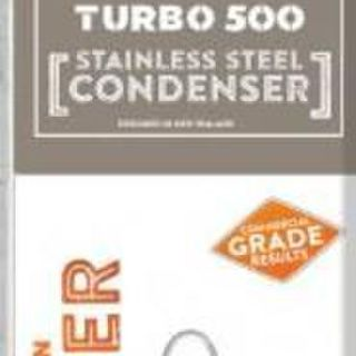 Turbo 500 Reflux Condenser - Stainless