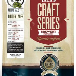 Mangrove Jack's Craft Series Golden Lager with Dry Hops