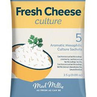 Fresh Cheese Culture - Aromatic Mesophilic (5 pack)