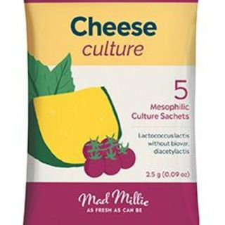 Cheese Culture - Mesophilic (5 pack)