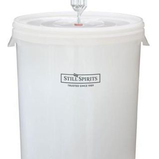 30L Pail type fermenter complete with tap and airlock