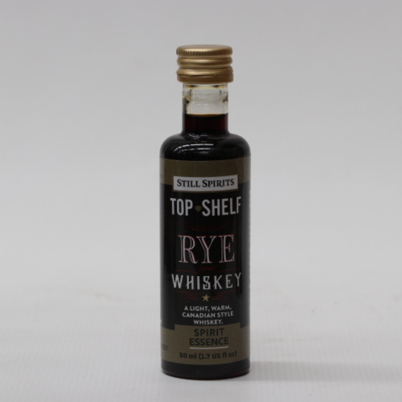 Top Shelf Rye Whisky