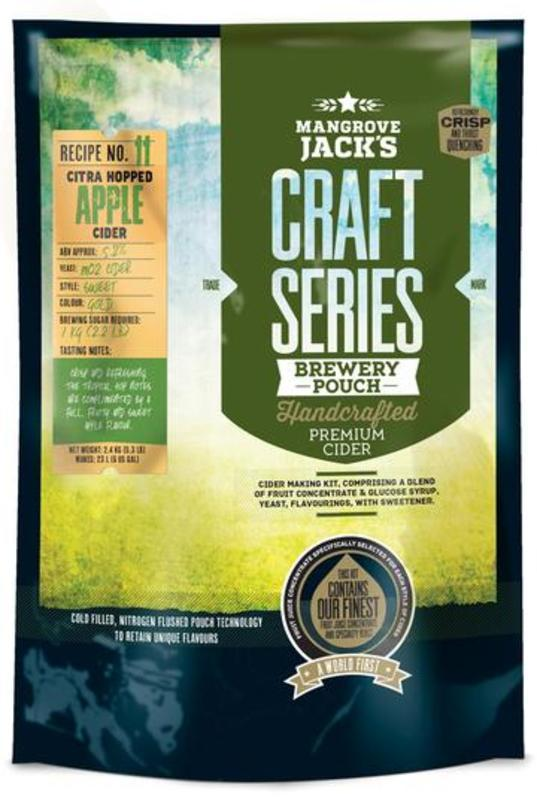 Craft Series Citra Hopped Apple Cider 2.4kg