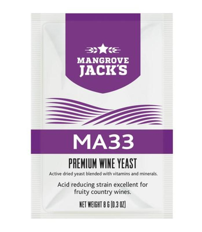 MA33 Acid Reducing Strain Wine Yeast