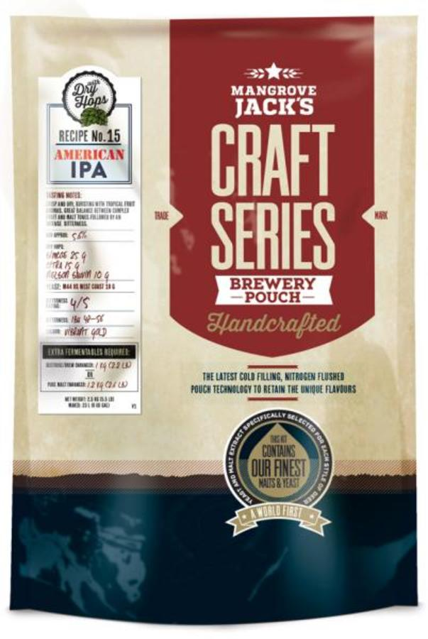 Mangrove Jack's Craft Series American IPA with Dry Hops