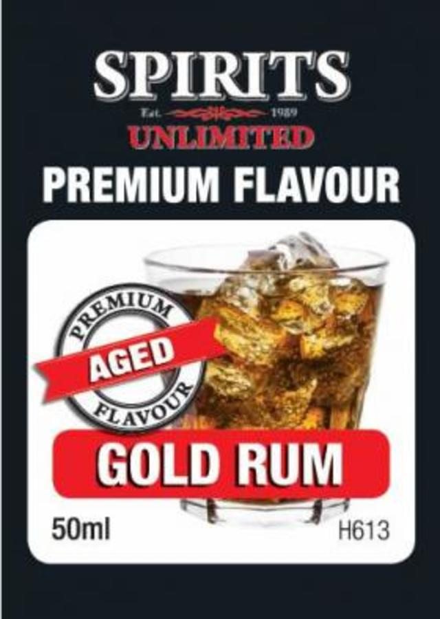 Sprits Unlimited Premium Gold Rum