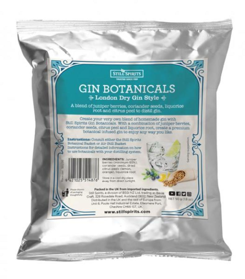 London Dry Gin Style Botanical Pack